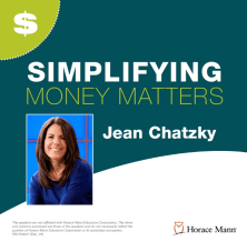 Simplifying Money Matters Poster with Photo of Jean Chatzky