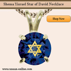 Shema Yisrael Star of David Necklace