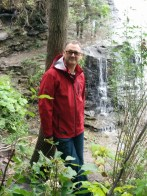 Paul at Albion Falls, Hamilton
