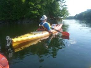 Paddling on Charleston Lake - Whitefish Island