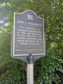 Plaque - Sir John A MacDonald