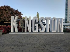 Paul putting the 'I' in Kingston