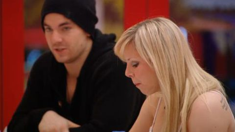 Danielle and Tom on Big Brother Canada