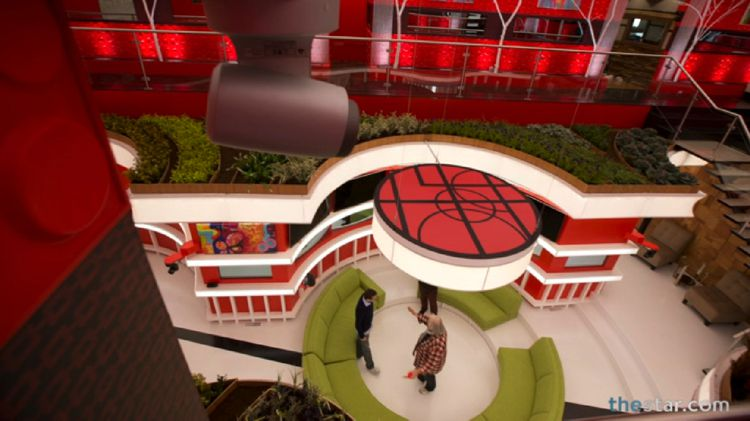BBCAN2 view from second floor