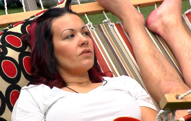 Sarah talks with Arlie's feet
