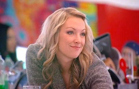 Allison smirks