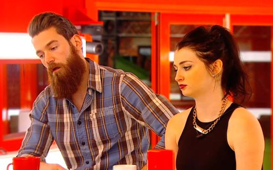 Kenny & Rachelle on Big Brother Canada