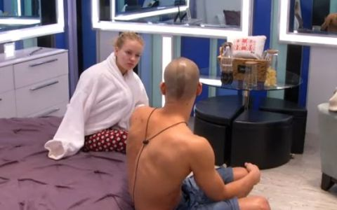 Adel and Heather on Big Brother Canada 2