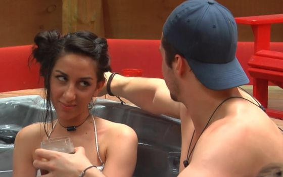Neda and Jon on Big Brother Canada
