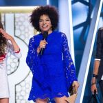 BBCAN host Arisa Cox with Nikki and Tim