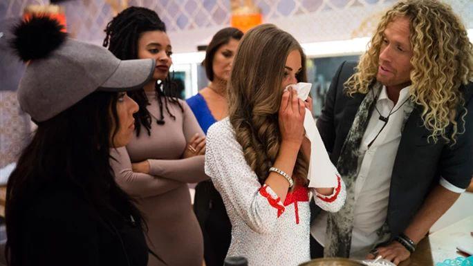 Nikki wastes no time causing some drama