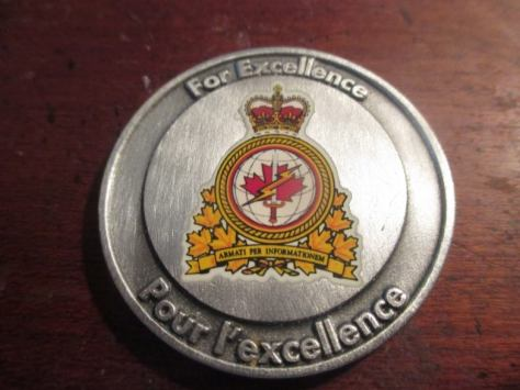 "Photo of the award ""For excellence"""