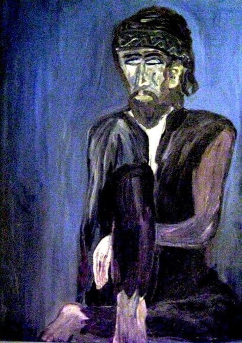 Blind beggar 1973 - By Klaus J. Gerken