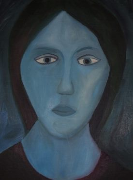 The Blue Madonna - 30 years ago I was offered $50,000 for this painting.