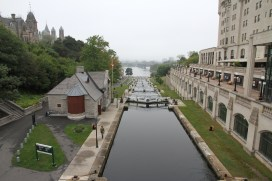 Rideau Canal – the locks