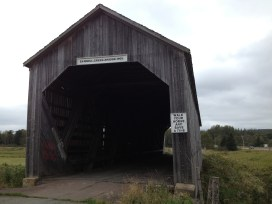 Covered bridge built in 1905