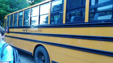 Figure 1. The schoolbus we took to Ottawa.