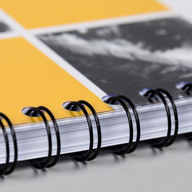 wiro-bound-book