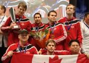 Team Canada Podium