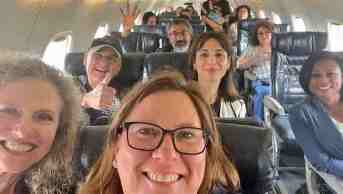 Dozens of beer-breathed Dems who escaped mask-less by chartered private planes to come to Washington for presidential praise from 'leader' Joe Biden