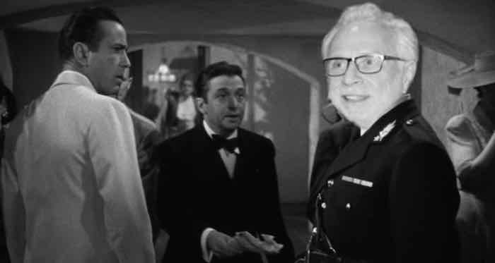 Casablanca:  Wolf Blitzer shocked - shocked I say! - to find out that the DNC rigged the primaries