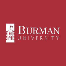 Burman University courses for international students