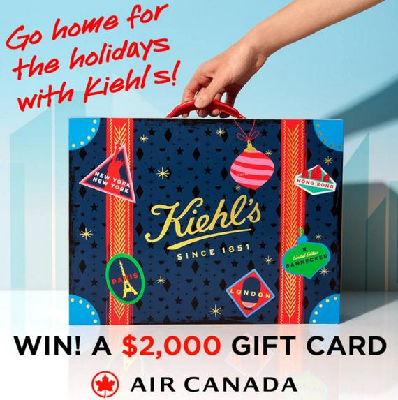 Kiehl's Home For The Holidays Contest