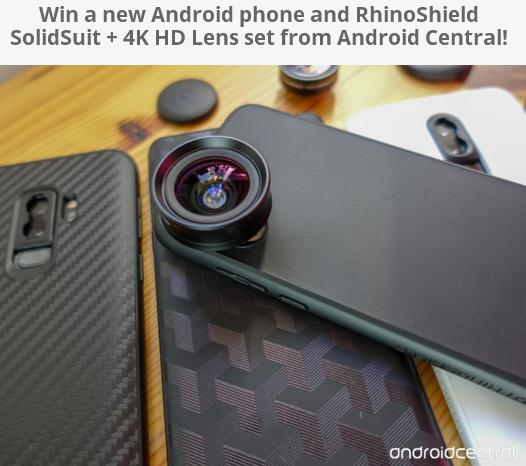 Android Phone And RhinoShield SolidSuit Giveaway