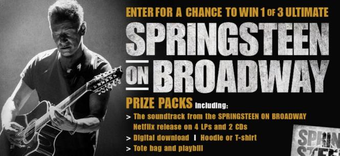 Bruce Springsteen On Broadway Contest