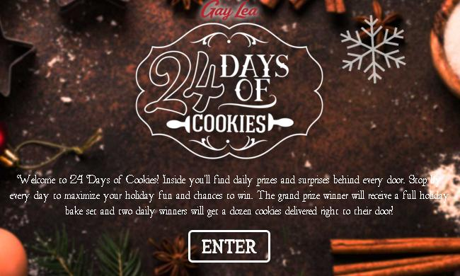 Gay Lea 24 Days of Cookies Contest