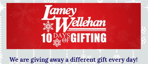 Lamey Wellehan 10 Days Of Gifting Giveaway