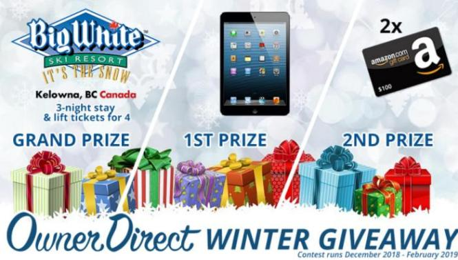 Owner Direct Winter Giveaway