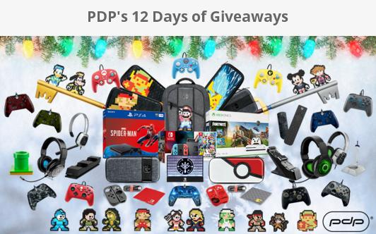 PDP's 12 Days of Giveaways