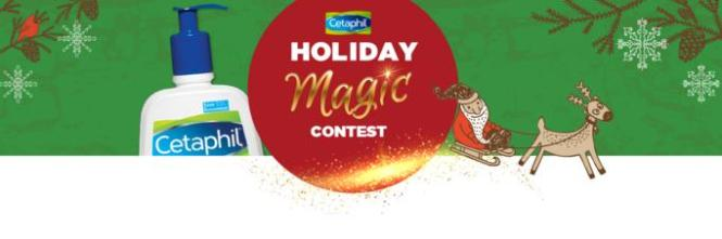 The 12 Days of Cetaphil Holiday Magic Contest