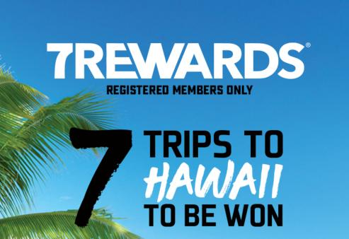 7-Eleven Canada Trips To Hawaii Contest