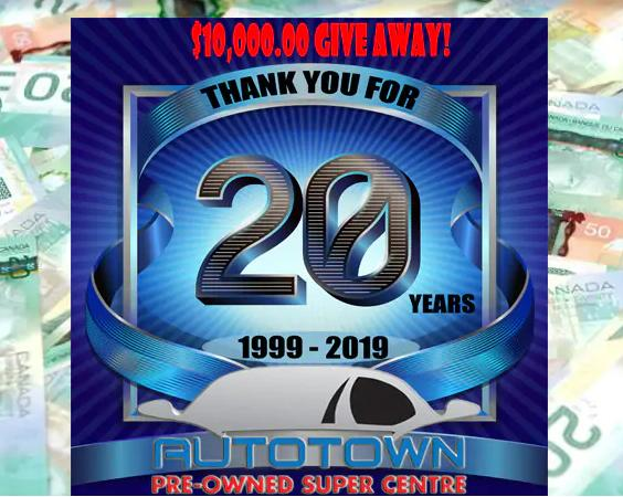 Autotown's 10,000 Giveaway