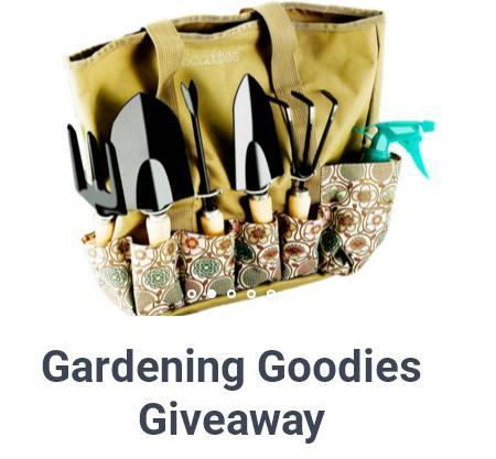 Gardening Goodies Giveaway Archives - Canada Giveaway and