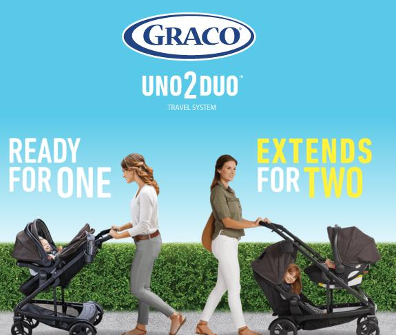 The Graco Uno2duo Sweepstakes