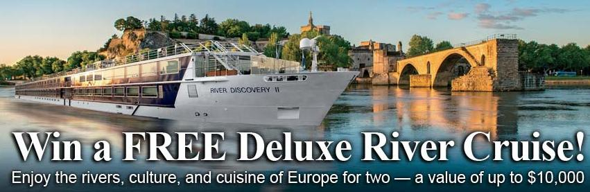 Vantage Travel Deluxe River Cruise Sweepstakes - Win A Deluxe River