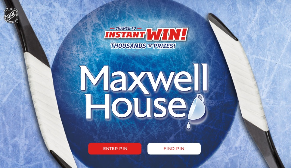 The Maxwell House Stanley Cup Playoffs Contest - Win Two Tickets