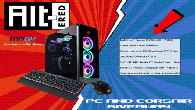 PC And Corsair Bundle Giveaway - Win Custom PC With Corsair Mouse