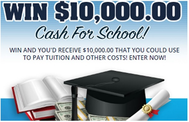 PCH $10000 Cash For School Giveaway - Win $10000 Cash - Canada