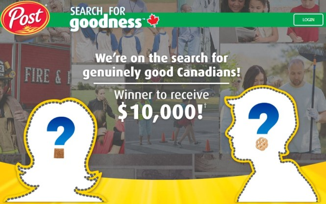 Post Foods Search For Goodness 2019 Contest