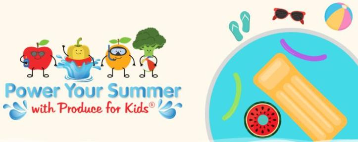 Produce For Kids Power Your Summer Sweepstakes - Win Fun Poolside