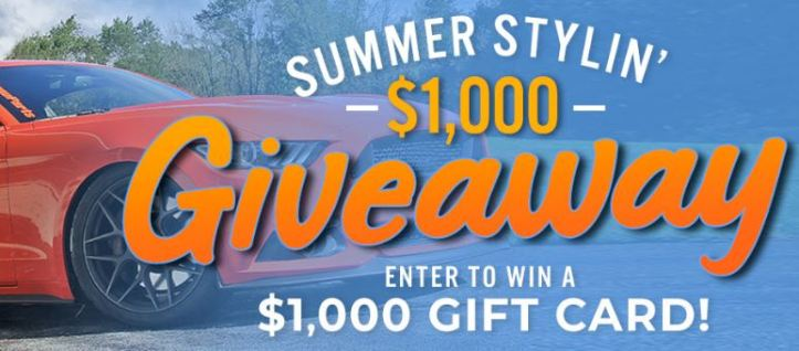 CJ Pony Parts - Summer Stylin $1,000 Giveaway - Win Gift