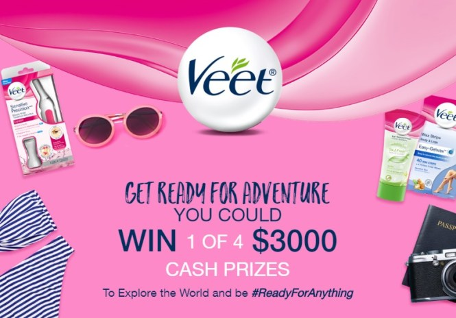 The Veet Ready for Adventure Contest