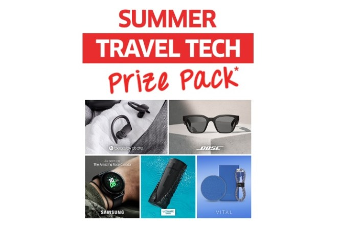 Source Summer Travel Tech Prize Pack Contest