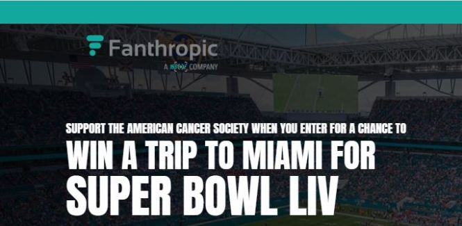 Fanthropic Super Bowl Sweepstakes