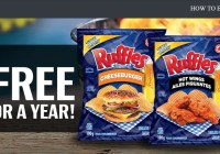 Free Ruffles For A Year Contest
