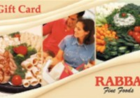 Rabba Fine Foods Gift Card Giveaway